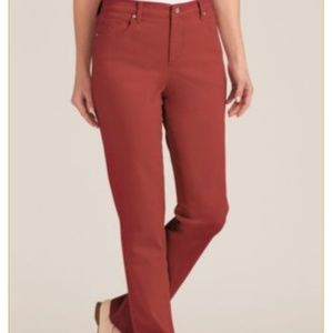 Real comfort by Chadwick's burnt orange jeans 18W
